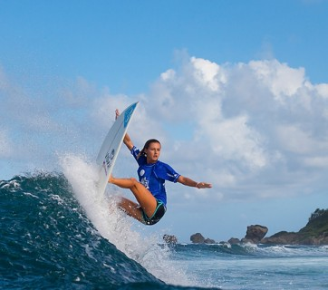 Chelsea Tuach. Photo: WSL/Harrington