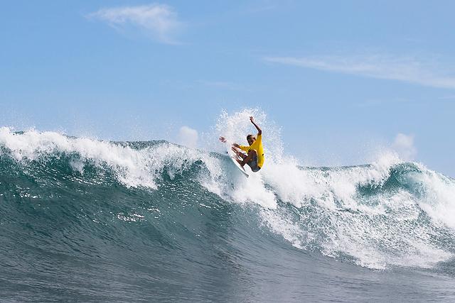 Jacob Burke. Photo: WSL/Harrington