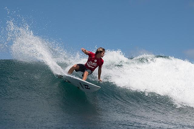 Josh Burke. Photo: WSL/Harrington