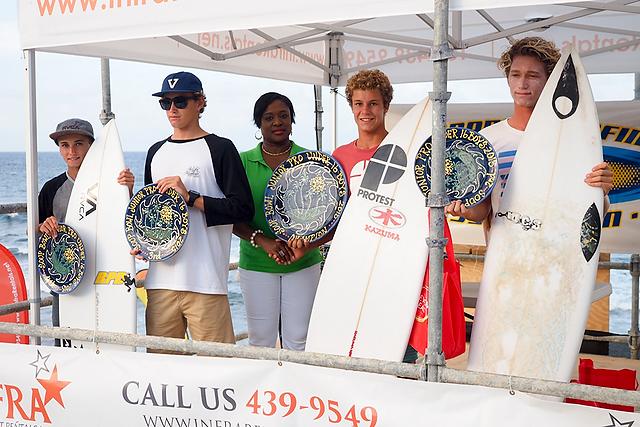 Boys U16 finalists. Photo: Mark Harris