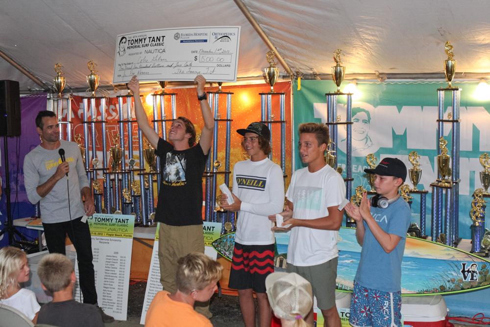 Pro Junior finalists. Photo: Dugan