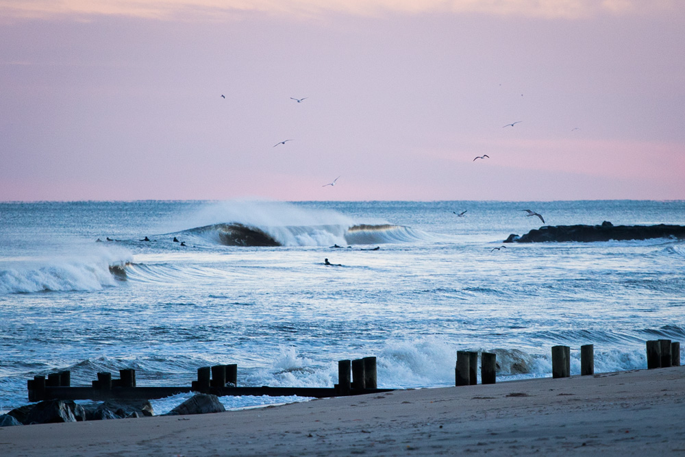 Yes, you can believe your eyes — New Jersey did look like a coldwater paradise this week. Photo: Matt Degreff