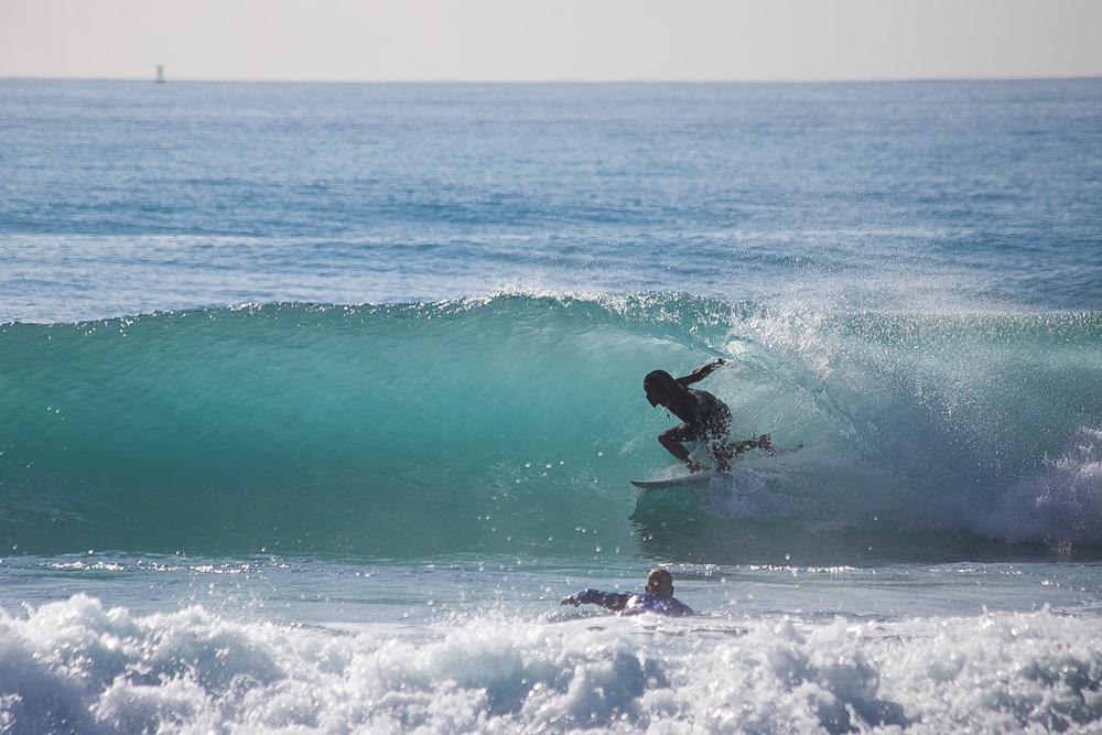 Icah Wilmot, backside barrel in Jamaica. Photo: Ishack Wilmot