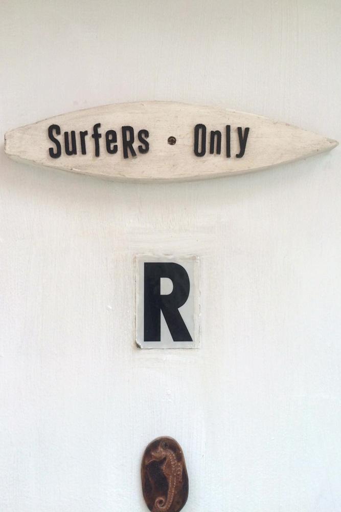 The one-room apartment in Long Beach, NY, where Surf Club gathers. Photo: Glenn Bachmann