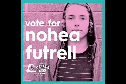 North Carolina's Nohea Futrell also made Round 2 and currently sits in 5th in online voting.