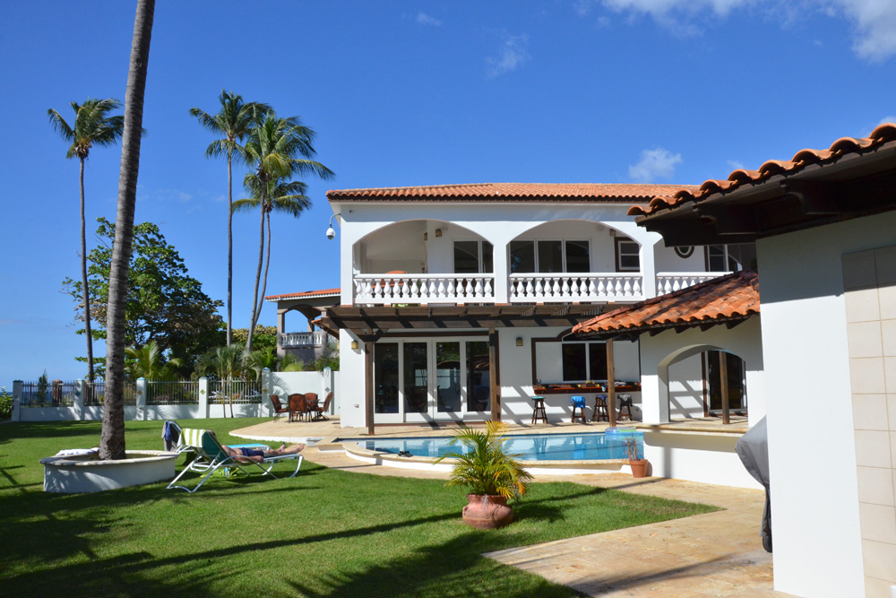 Russ and Roxanne Scully's newest venture is Villa Playa Maria in Rincón, Puerto Rico. Photo: Scully
