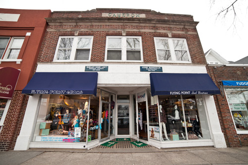 New York's Flying Point Surf Shop grew from one location in Southampton to a seven-shop boutique empire throughout Southampton, Sag Harbor, Bridgehampton, and Watermill. Photo: Courtesy Flying Point