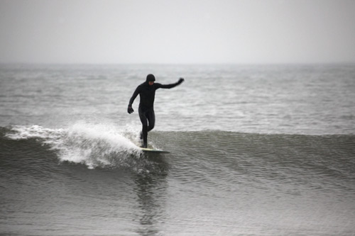 The shop also maintains its core value by hosting surf camps and sponsoring team riders like Luke O'Connor and Jeff Payne. Photo: Courtesy Flying Point