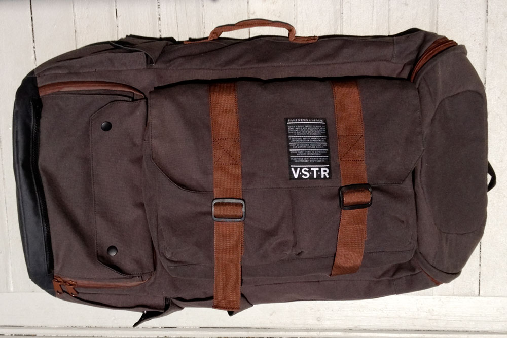 Simplicity is paramount when you're traveling, so it's time for an upgrade for all of us traveling, poorly styled excuses for surfers. Enter the Nomadic Pack, a collaboration between VSTR and NYC firm Partners & Spade. This pack is far from lacking in the style department with its vintage aesthetic and classic detailing. Photo: Peter Viele