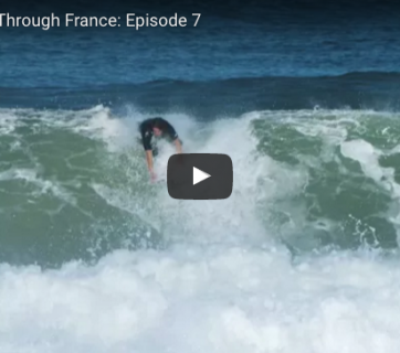 Evan Geiselman and Mitch Crews star in Reef's Just Passing Through France: Episode 7.