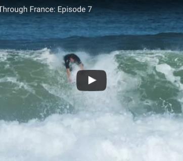 Evan Geiselman and Mitch Crews star in Reef's Just Passing Through France: Episode 7.