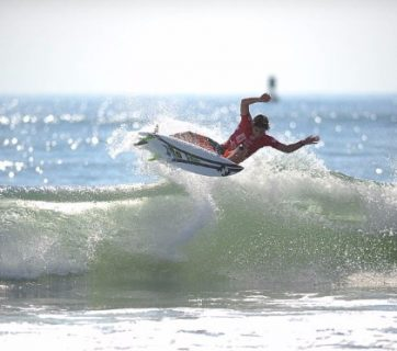 Griffin Colapinto will look to better his Quarterfinal performance from last year's Vans Pro Men's QS3,000 and move futher up the QS rankings. Image: WSL/ John W. Ferguson