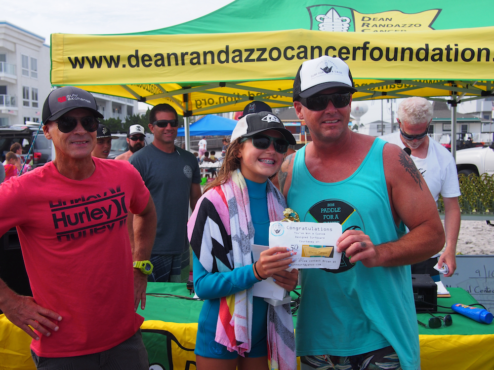 Zoe Bourgeois at the 16th Annual DRCF Surf For A Cause