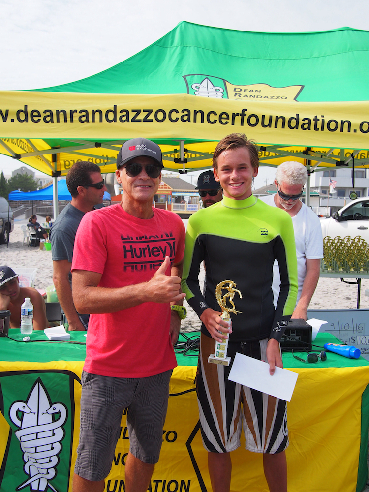 Evan Couval at the 16th Annual DRCF Surf For A Cause
