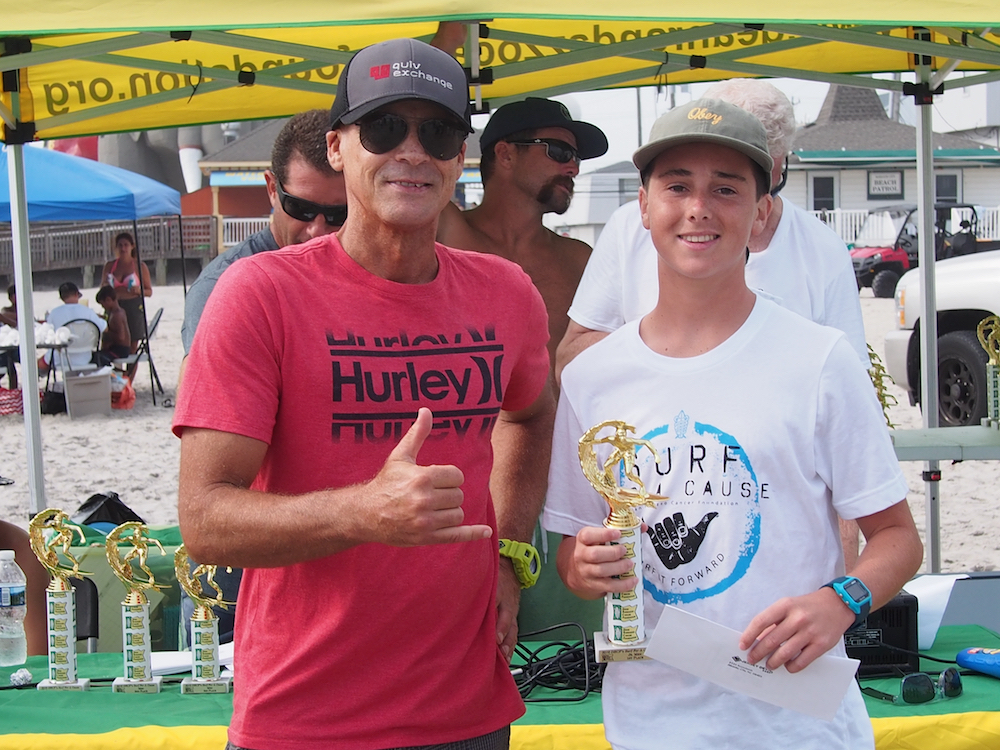 Pat Pat Taylor at the 16th Annual DRCF Surf For A Cause