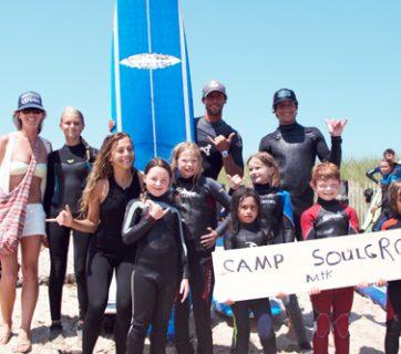 CoreysWave campers. Photo: Madeleine Javier