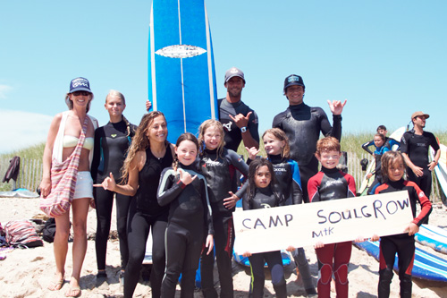 CoreysWave campers. Photo: Madeleine Javier