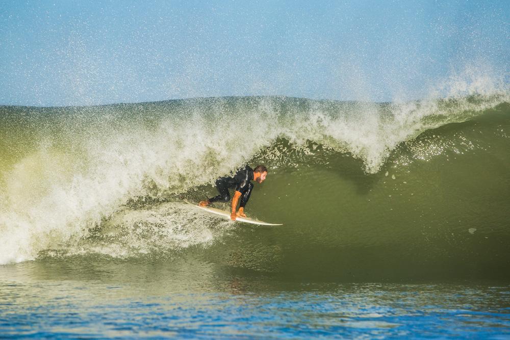 Chris Curry, North Carolina, Hurricane Nicole. Photo: Dave Sieczkiewicz