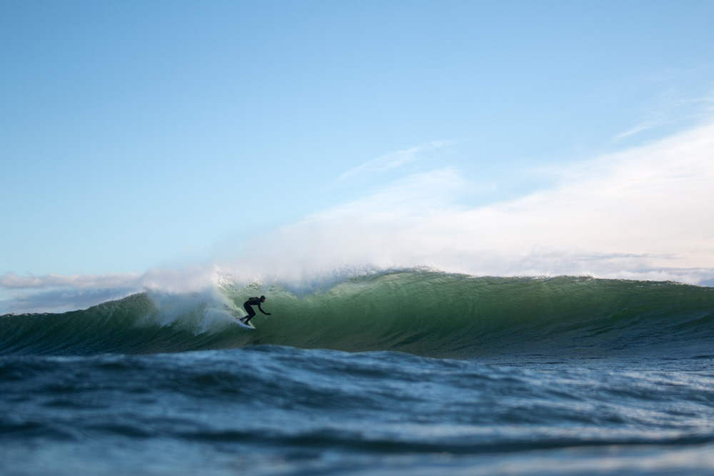 Logan Landry, Hurricane Nicole, Nova Scotia, Canada. Photo: Tom Terrell