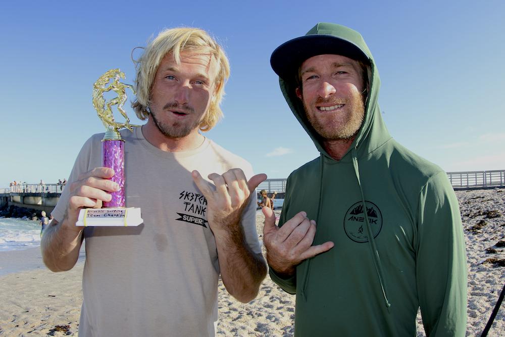 Ben Gravy & Aaron Cormican. Photo: Dugan