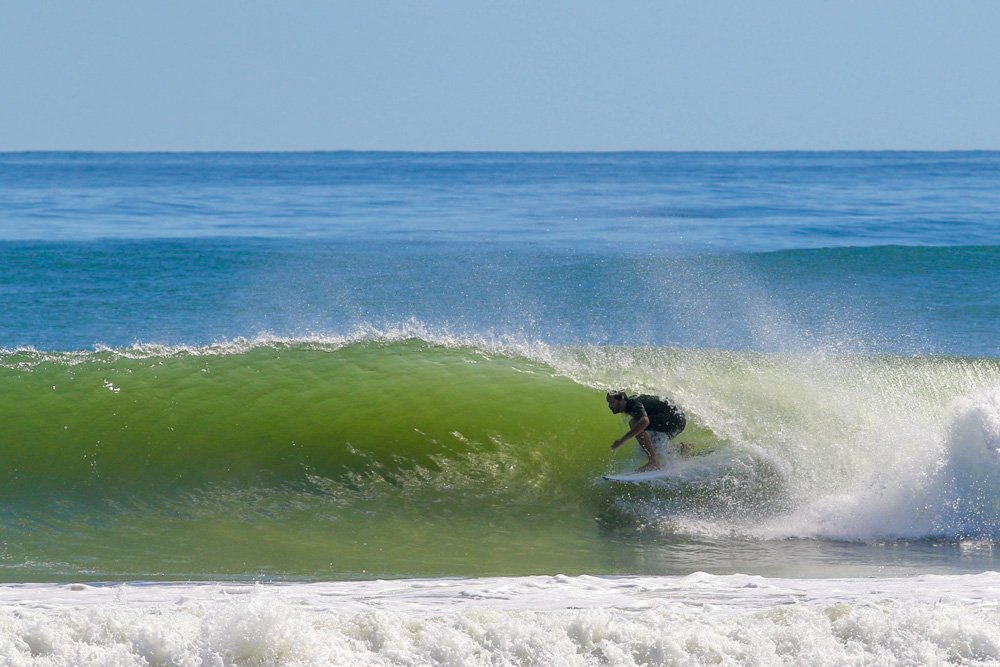 Pete Viele, Hurricane Nicole, North Carolina. Photo: Jordan Nason