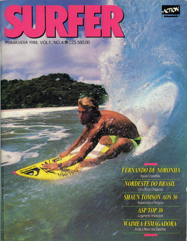 Jamie Brisick Surfer cover by Robert Beck