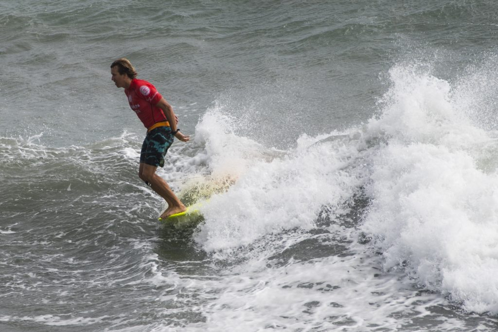 Tony Silvagni at the Taiwan Open of Surfing: Photo: WSL/Bennett