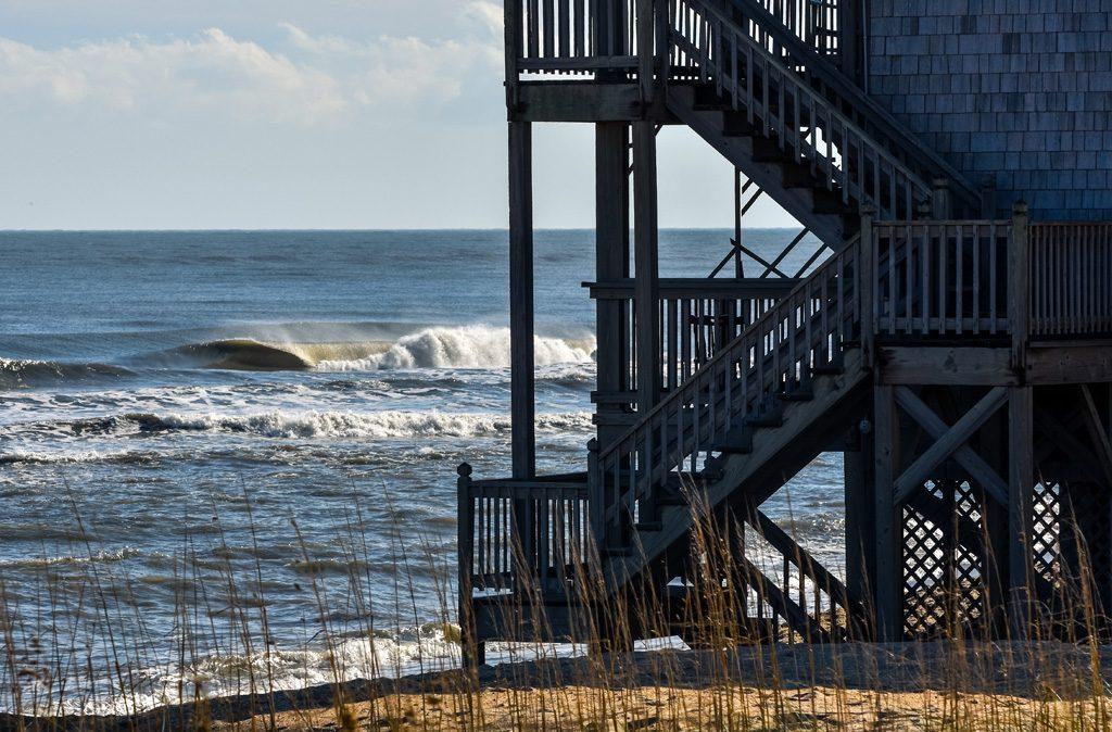 North Carolina, Fall's Last Call swell gallery. Photo: Dakota Hammer