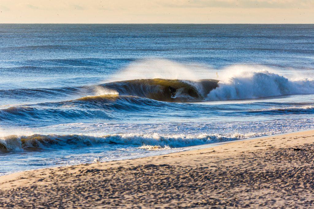 Unknown surfer, New Jersey. Photo: David Nilsen