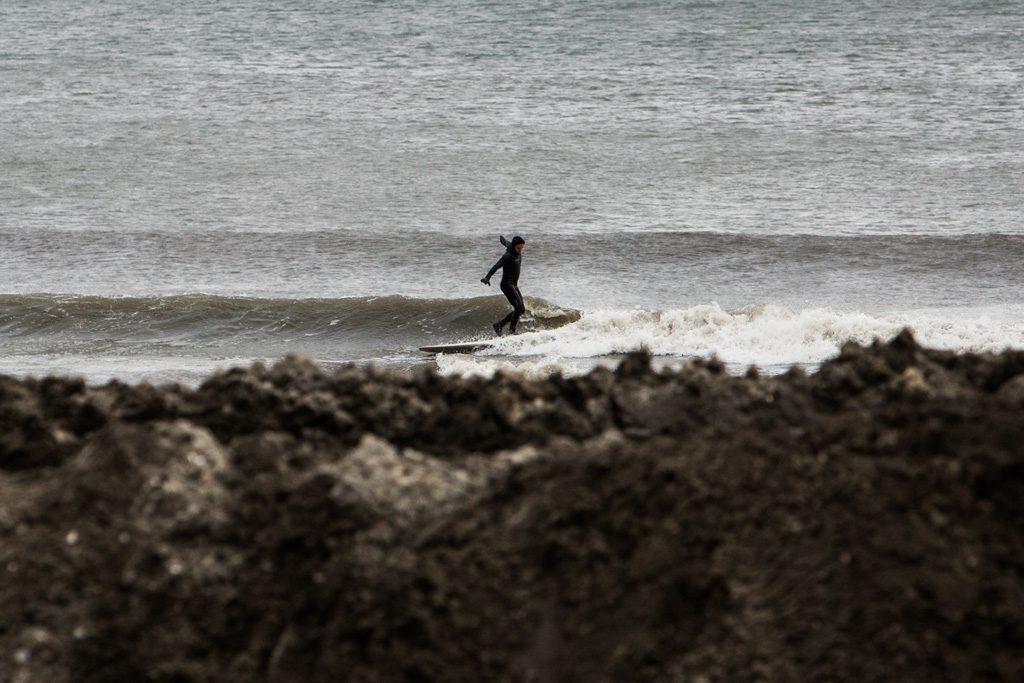 James Contreras, New Jersey longboard. Photo: Don Cooper