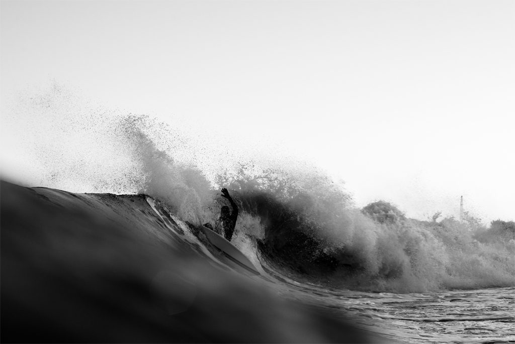Bryan Zinski, New Jersey, December swell, Hunter DeNicola