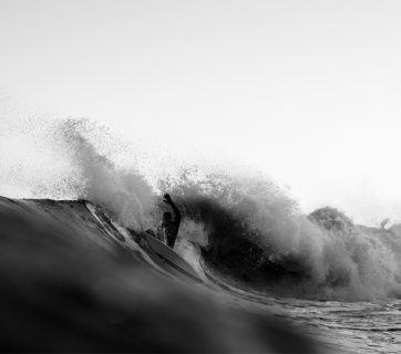 Bryan Zinski, New Jersey, December swell, Hunter DeNicola