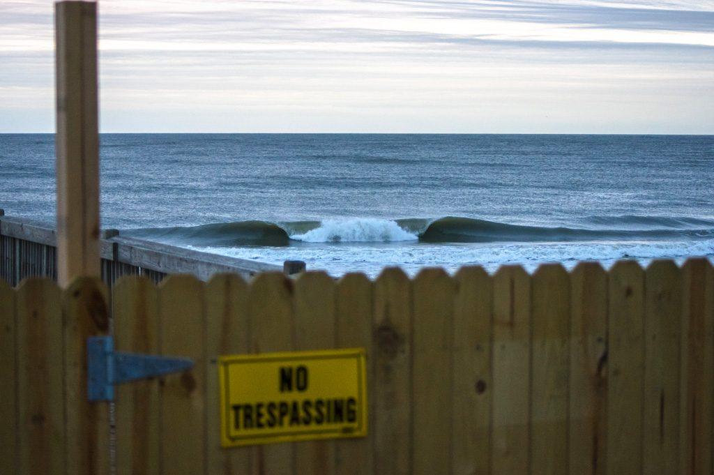 Georgia surf. Photo: Ian Wilson