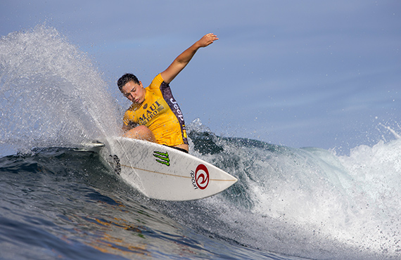 Tyler Wright. Photo: © WSL/Poullenot