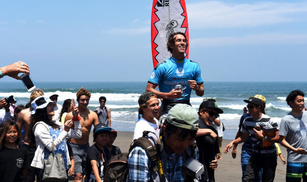 Evan Geiselman, Surfer of the Year, Japan, WSL