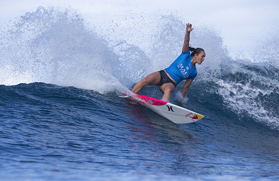 Carissa Moore. Photo: © WSL/Poullenot