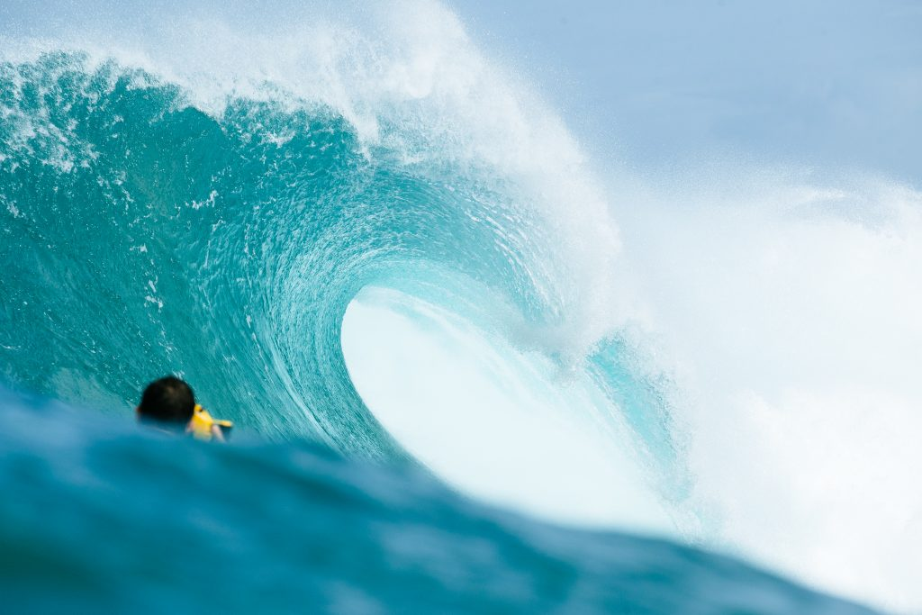 Vans World Cup of Surfing at Sunset Beach. Photo: WSL/Sloane