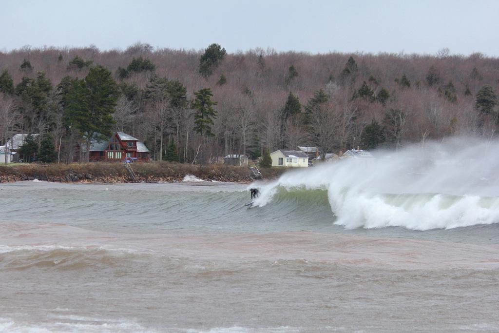 Grant Davey, Lake Superior, Great Lakes, Brian Tanis