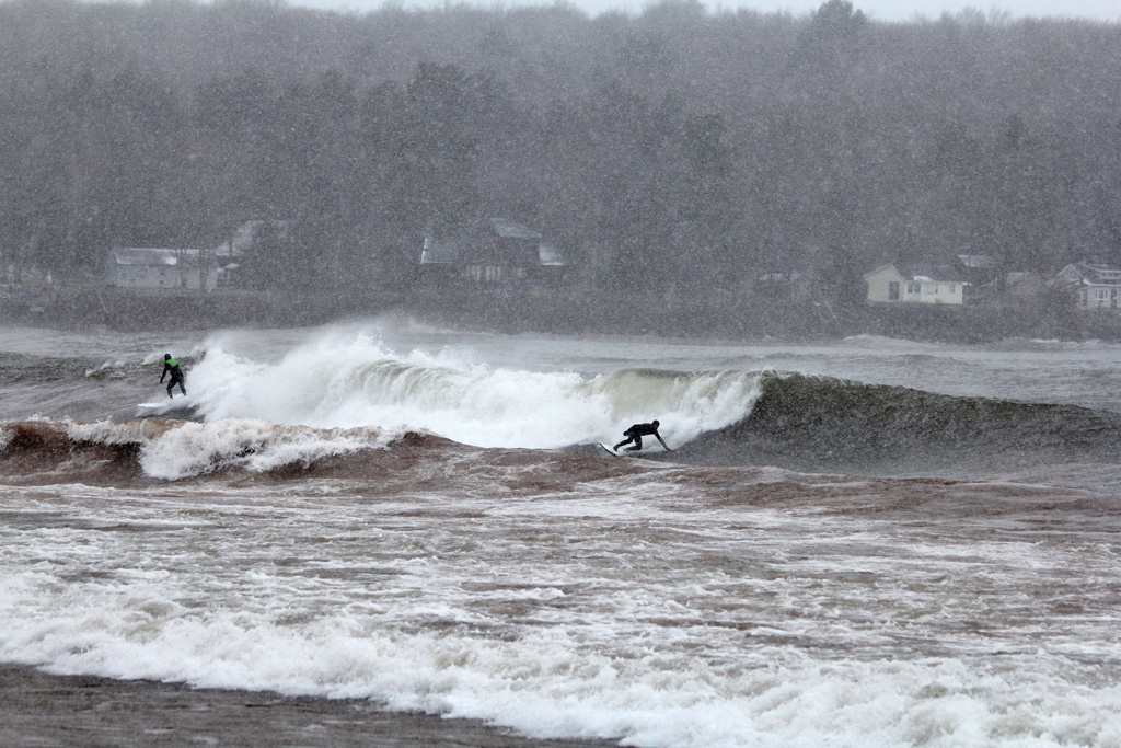 Grant Davey, Will Wall, Lake Superior, Great Lakes, Brian Tanis