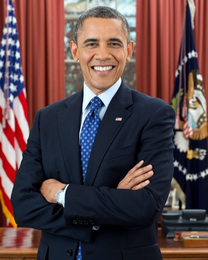 Official portrait of President Barack Obama in the Oval Office, Dec. 6, 2012. (Official White House Photo by Pete Souza)