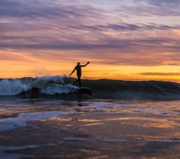 photo of the day, potd, james parascandola, new york, neal campbell, longboard, winter