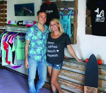 the beachside resident and salty sweet boutique