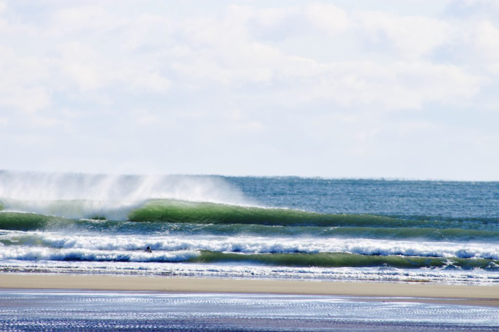 Winter Storm Helena Swell Gallery, Maine, Tucker Grinnell