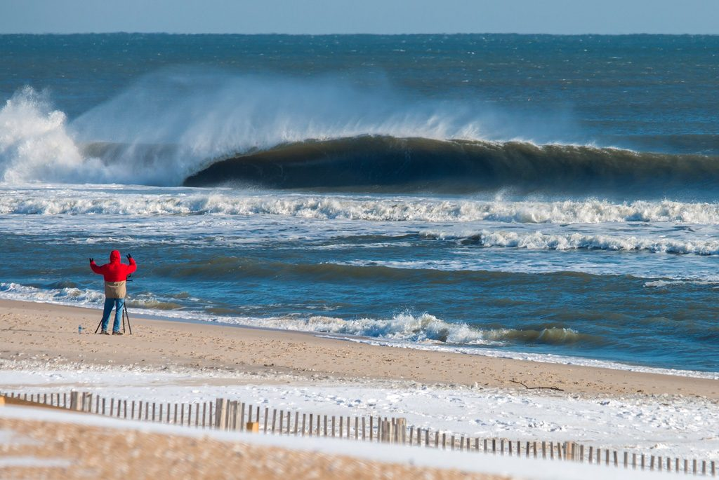 Winter Storm Helena Swell Gallery, New Jersey, Matt Reitinger
