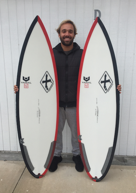 Caio with Xanadu Varial Foam and Infused Glass