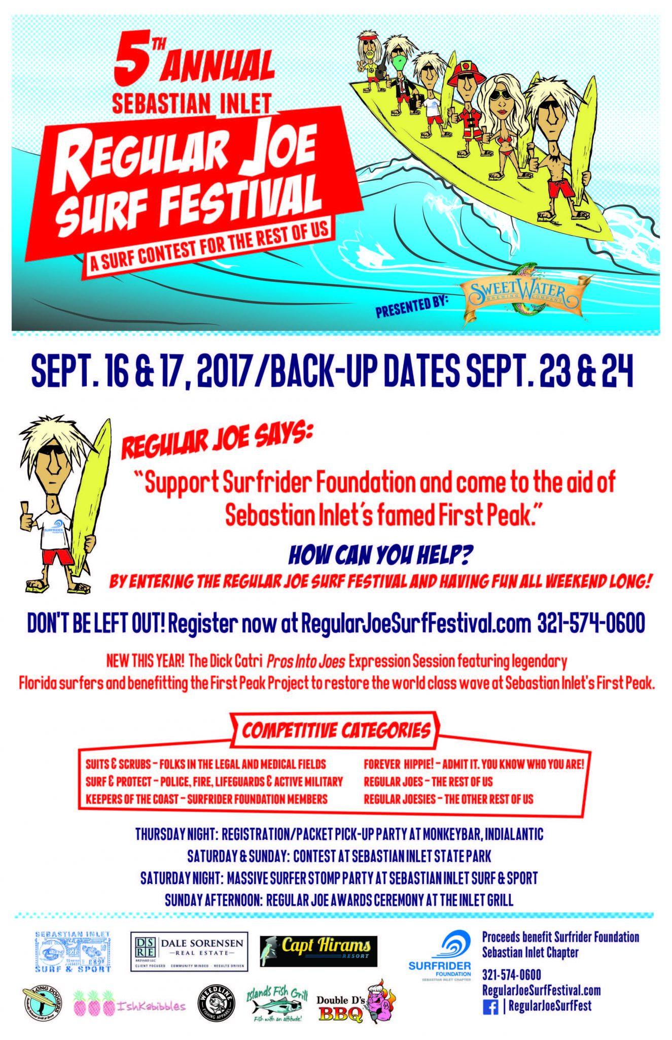 regular joe surf festival