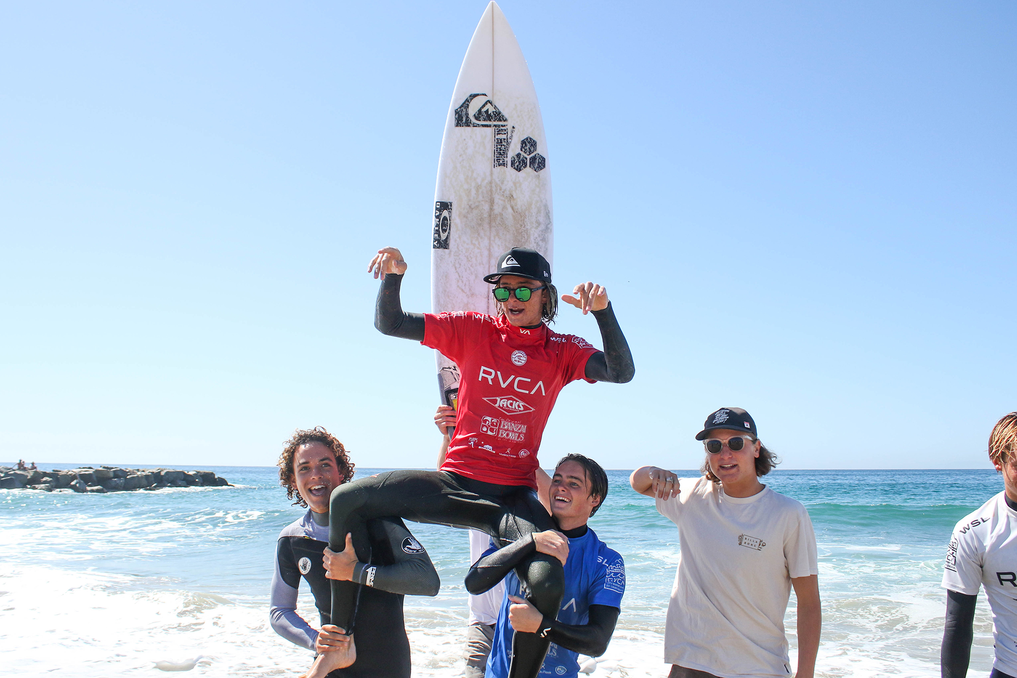 Luke Gordon and Tommy Coleman Finish 2nd-3rd at RVCA Pro